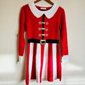 Francesca's Christmas Sweater Dress